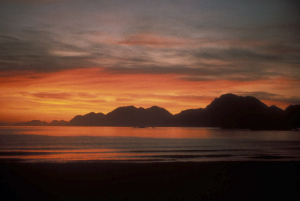 Adak_sunrise_from_Kuluk_Beach-300x201