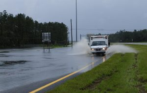 FEMA_-_37595_-_Ambulance_on_a_flooded_road_in_Florida-300x191